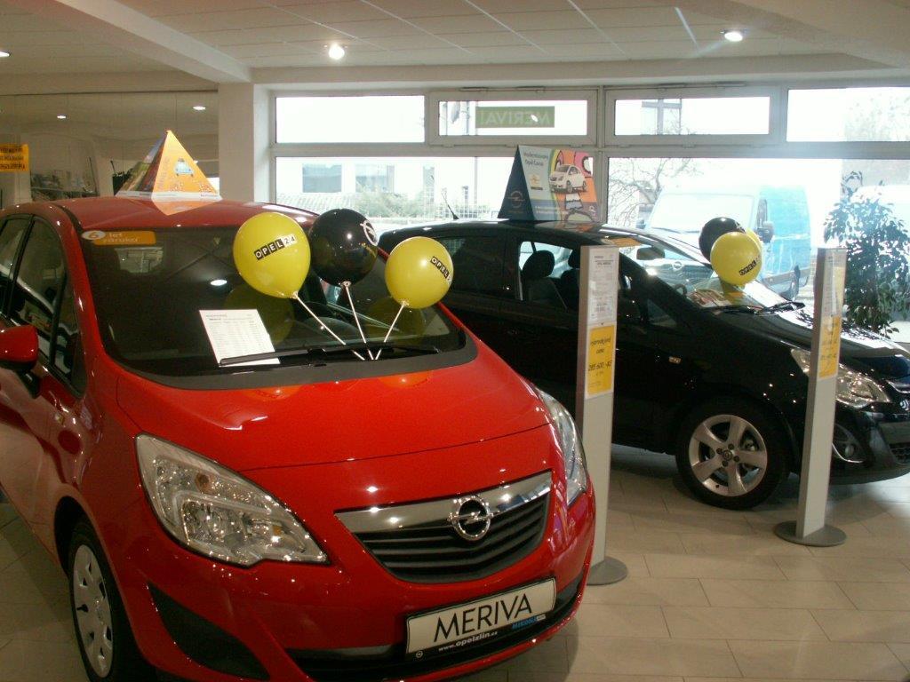 Opel 24 hodin - autosalon Zlín - ve dne